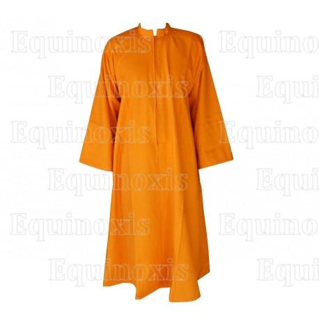 Robe maçonnique –  Safran – Haute qualité